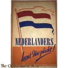 Brochure Nederlanders kent uw plicht !
