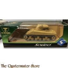 Boxed SOLIDO Military 1/43 Scale Diecast 6078 - SHERMAN EGYPTIEN