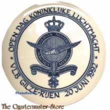 Onderzetter Open dag Kon Luchtmacht VLB Gilze-Rijen 20 juni 1992
