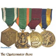 Medalbar 4 medals US Navy