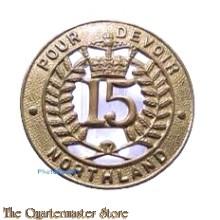 Cap badge 15th Northland Regiment  New Zealand