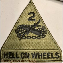 Formation patch 2nd Armored Division (Subdued)