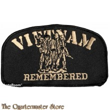 Blazer badge VIETNAM remembered