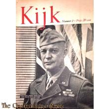 2 Maandelijks blad Kijk no 2,  Generaal Dwight D Eisenhower