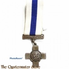 George Cross for gallantry (miniature)