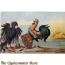 Postcard   Et je reprends mon Alsace et ma Lorraine !! 1914-1918
