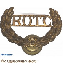 Cap badge US R.O.T.C. (Reserve Officers Training Course)