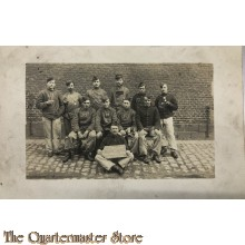 Studio groeps portret les employes du Magasin du Corps  belgium 1910-11