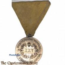 Ehrenmedaille  für 25 jährige verdienstvolle Tätigkeit a. dem Gebiet des Feuerwehr und Rettungswesen