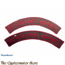 Straatnamen Netherlands Marines 1944-45