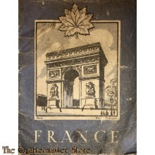 Manual France for Canadian soldier WW2