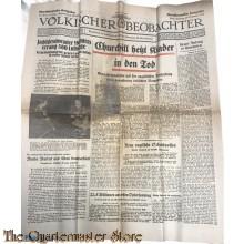 Volkischer Beobachter Norddeutsche ausgabe Berlin Dienstag 24 Sept 1940