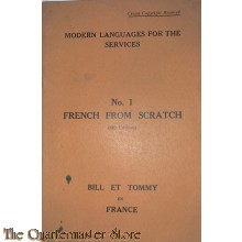 Modern Languages for the Services , no 1 french from scratch (4th edition) 1944