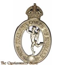 Cap badge New Zealand Corps of Signals 1930-1942