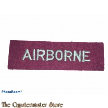 Shoulder title AIRBORNE (straight)
