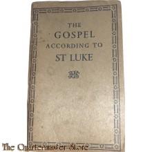 Booklet the gospel according to St. Luke 1939