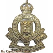 Collar badge Royal Army Ordnance Corps R.C.A.O.C.