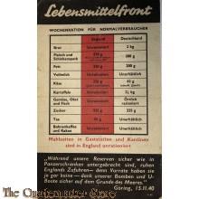 Flugblatt G.45, Lebensmittelfront (The Food Front, No. 3)