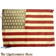 Small 51 stars and stripes flag