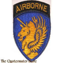 Mouwembleem 13e Airborne Division (Sleeve patch 13th Airborne Division)
