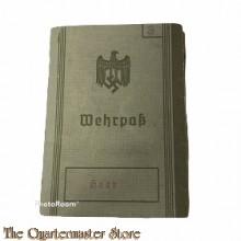 Wehrpass 1937 Hannover I/96/29/5