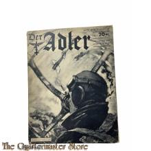 Zeitschrift Der Adler heft 18 , 17  okt 1939 (Magazine Der Adler no 18 , 17 okt  1939)