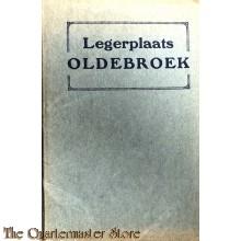 Boekje met ansichtskaarten Legerplaats Oldebroek 1925-30
