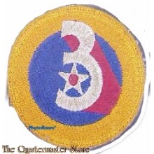 Mouwembleem 3rd Air Force (Sleeve patch 3rd Air Force)