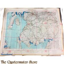 LW map Fliegerausgabe Grossbritannien (Schotland, Glasgow u. Mittlerer Westen) 1940