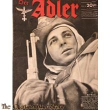 Zeitschrift Der Adler heft 25 ,7 dec  1943  (Magazine Der Adler No 25 7  dec 1943)