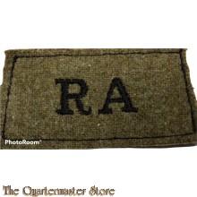 Slip on Royal Artillery (RA)