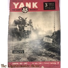 Magazine Yank Vol 3 no 9 , aug 13 1944