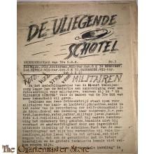 Onderdeelsblad van 32 R.G.G. no 3  ¨de Vliegende schotel¨