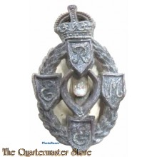 Cap badge Royal Mecanical and Mecanical Engineers R.E.M.E. (plastic)