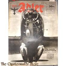 Zeitschrift Der Adler heft 21 ,14 okt 1941 (Magazine Der Adler no 21, 14 oct 1941)