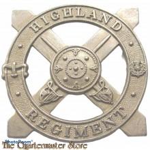 Cap badge Highland Regiment