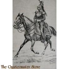 Ansicht Kaart Cavalerist 1835