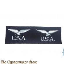 Original rare RAF USA badges Eagle squadron