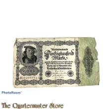 Reichsbanknote Funfzigtausend  Mark 1923
