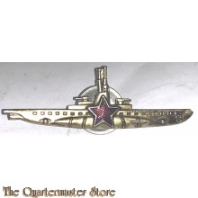 Russia - submarine commander badge red star