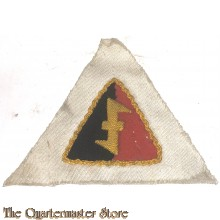 NSB/W.A. Cap badge on white cloth