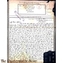 Letter Airgrahph Service 1943