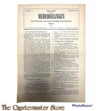 Nederlandsche Spoorwegen Mededelingen betreffende personeels aangelegenheden No 7 1 febr 1943