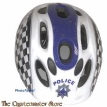 British POLICE bicycle helmet