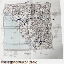 WW2 LW  Fliegerkarte Nantes (France)