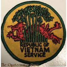 Blazer badge Republic of Vietnam Service
