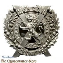 Cap badge London Scottish Regiment