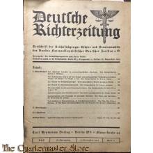 Deutsche Richterzeitung Heft 11 15 nov 1934