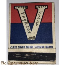 Matchbook V for Victory Canada WW2 (personalised)