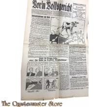 Zeitung Vor'm Volksgericht 2er Jrg folge 25 , 25-06-1933